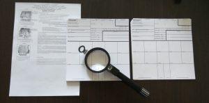 Fill in the form FD 258, fingerprinting in Kiev