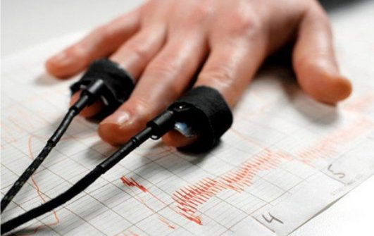 Investigation with the use of polygraph (lie detector).